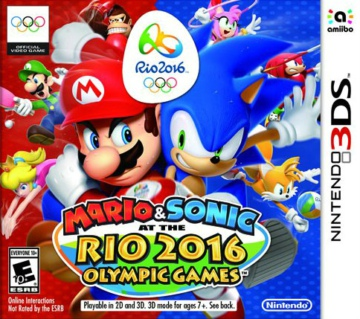 马里奥与索尼克在里约奥运会美版下载
