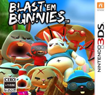 抢滩登陆战傻兔版美版下载【3dsWare】
