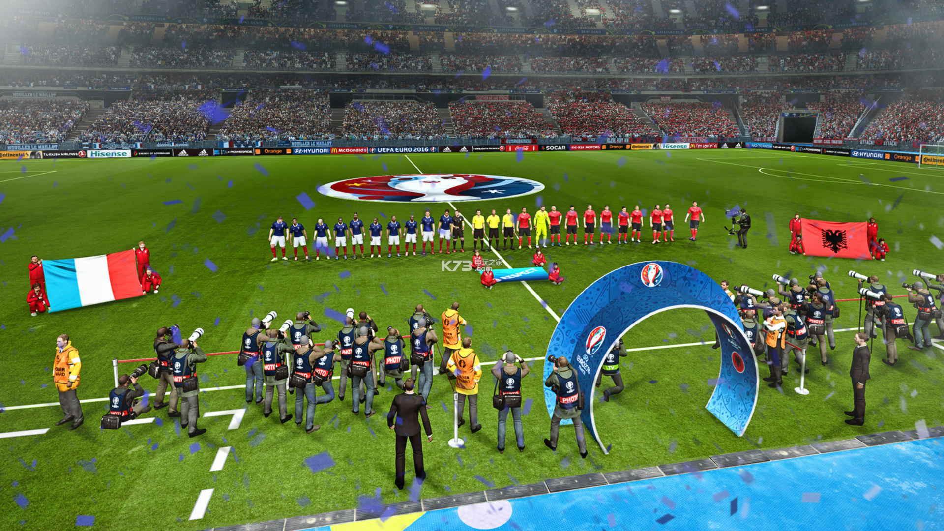 实况足球2016欧洲杯 中文版下载 截图
