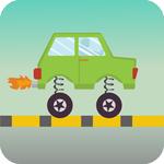 交通车跳跃中文破解版下载v1.0