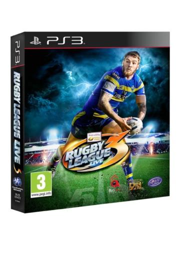 [PS3]ps3 橄榄球联赛现场3美版预约 澳洲英式橄榄球3PSN破解版预约
