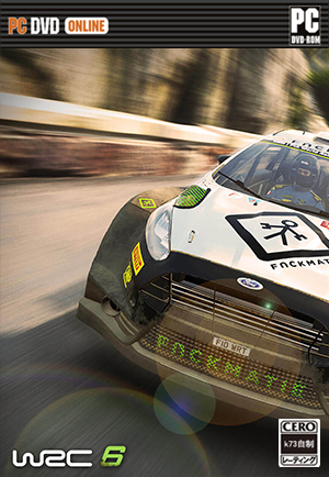 WRC世界汽车拉力锦标赛6汉化硬盘版下载