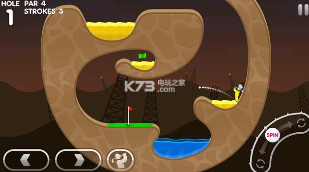 超级火柴人高尔夫3 v1.1 中文破解版下载 截图