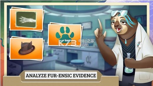 游戏名称:疯狂动物城犯罪档案隐藏对象 游戏原名:疯狂动物城犯罪档案隐藏对象 游戏版本:v1.2 游戏主机:Android 游戏大小:26.2MB 游戏类型:冒险 兼容性:需要安卓 4.1+ 游戏内的剧情是接着动画继续讲述的,狐尼克也已经正式成为一名警察,和女朋友朱迪·霍普斯一起联手破获了一个又一个案件。(呜呜呜迪士尼也在七夕虐狗了)玩家需要帮助他们调查案件,在案发现场时,玩家只要再场景中搜寻可疑的证据就可以了。如果你找不到证据的话,游戏还贴心的带有提醒功能,玩家只需要点击场景的物品,就可以收