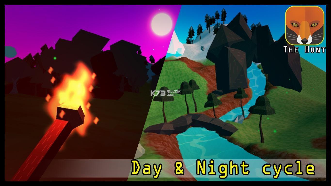 复古方块风格 丰富动物类型 独特狩猎系统 新颖有趣的游戏内容