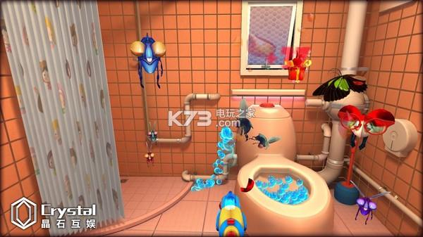 """中文名称:厕所战争vr 游戏原名:LooWarVR 游戏语言:中文 开发厂商:CrystalGame 发行厂商:CrystalGame 发售日期:2016-8-11 游戏容量:500MB 游戏类型:模拟,动作,休闲 故事背景讲述的是住在城市里的小男孩因为放暑假来到,住在乡下农场的爷爷家,在上厕所时经常会遇到一些""""不速之客""""进而展开一系列的战斗故事."""