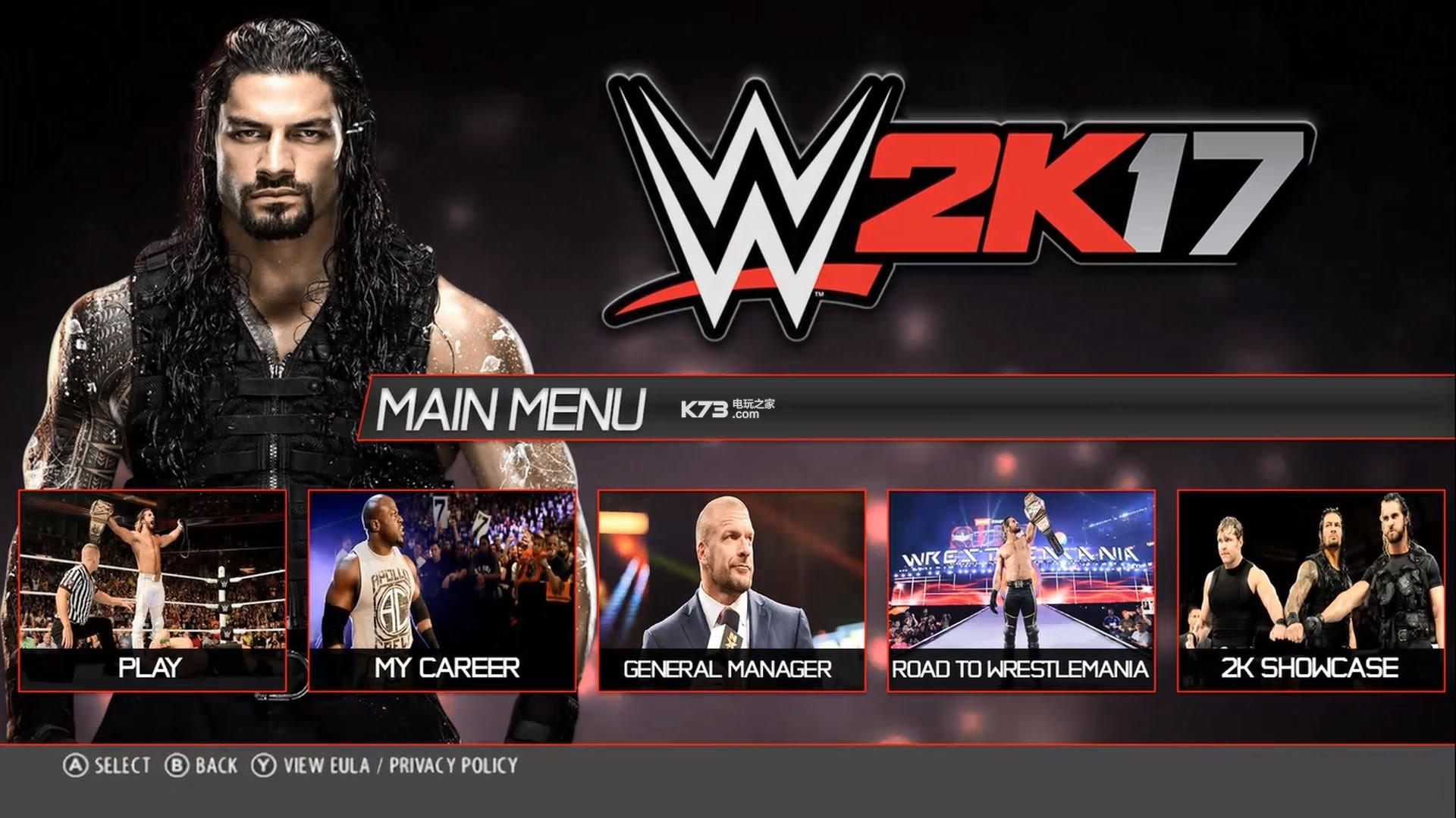 美国职业摔角2K17 全区ISO版下载 截图