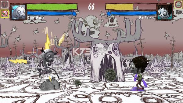 是一款以恐怖漫画动物形象为主题的一款格斗类游戏