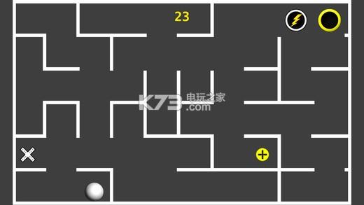 《倾斜球倾斜迷宫》是一款使用重力感应进行操作的3d走迷宫小游戏