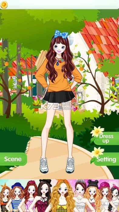 游戏截图 游戏介绍: 《可爱校园公主》是一款非常好玩的换装手游,是
