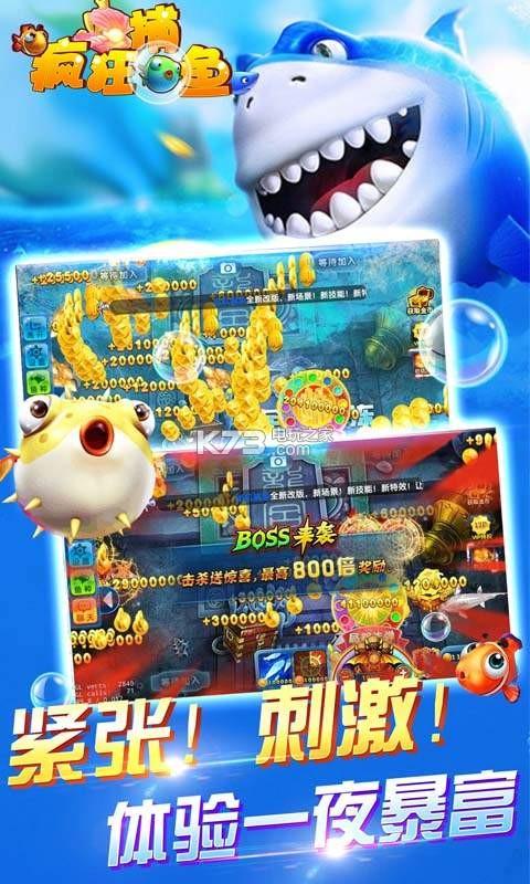 鱼丸疯狂捕鱼 v7.0.10.0.0 下载 截图