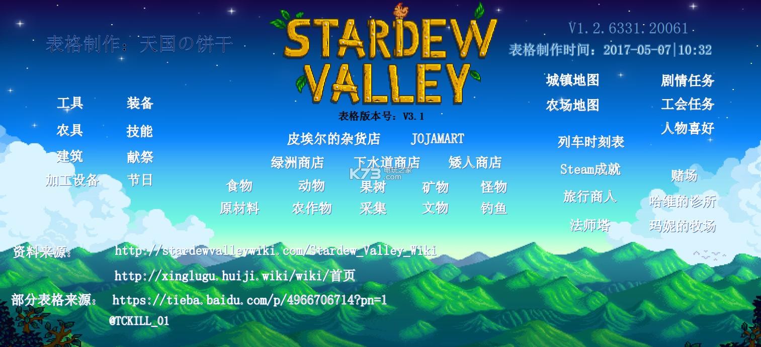 星露谷物语 tpg版离线百科下载 截图