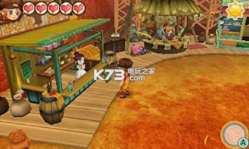 牧场物语三个村庄的珍贵朋友 完美汉化版cia下载 截图