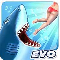 饥饿鲨进化无限金币钻石破解版下载v5.2.0