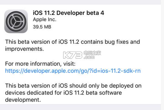 苹果11.2beta4 v1.0 固件下载 截图