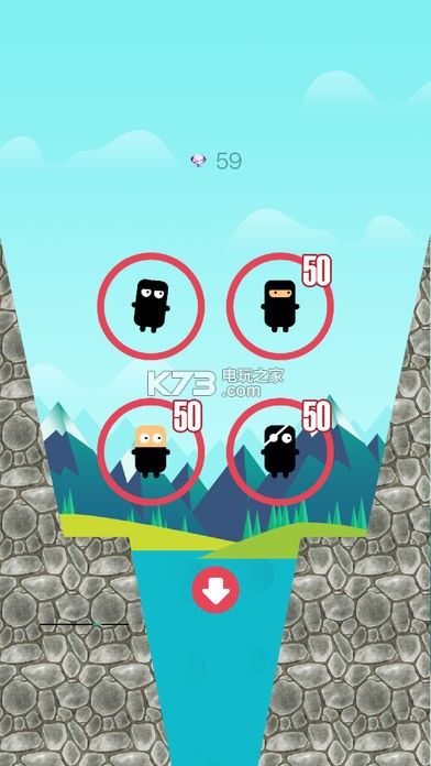暂提供ios版下载 跳过河游戏点评 一款趣味的迷你游戏 呆萌可爱的游戏