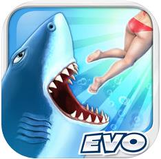 饥饿鲨进化 v8.2.0 新鲨鱼白鲸破解版下载