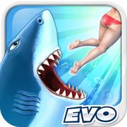 饥饿鲨进化 v8.2.0 邪恶大白鲨版下载
