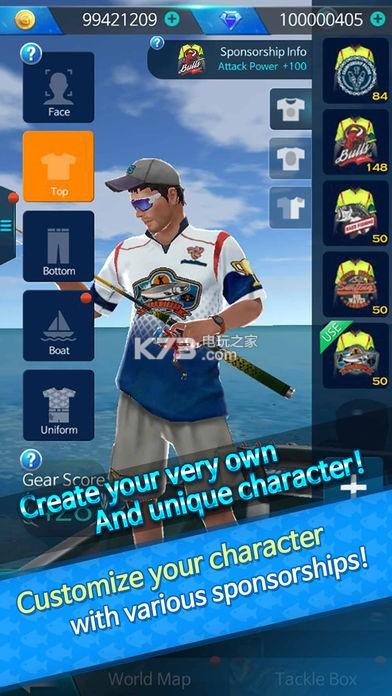 鱼钩鲈鱼锦标赛 v1.1.8 破解版下载 截图