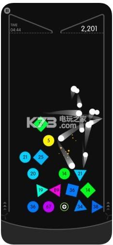 物理弹球 v1.7 无限球不死版下载 截图