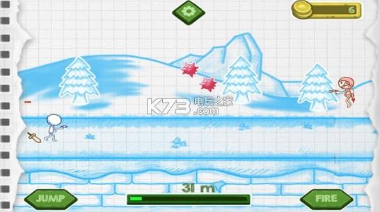 素描火柴小人酷跑下载v1.0 素描火柴小人酷跑游戏下载 k73电玩之家