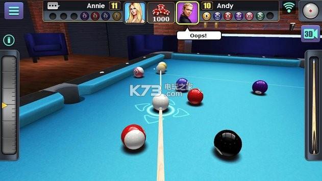 2d黑8台球单机_3d台球单机下载_3D 台球 Ps_美女台球3d_3D台球游戏 - www.iainaw.com