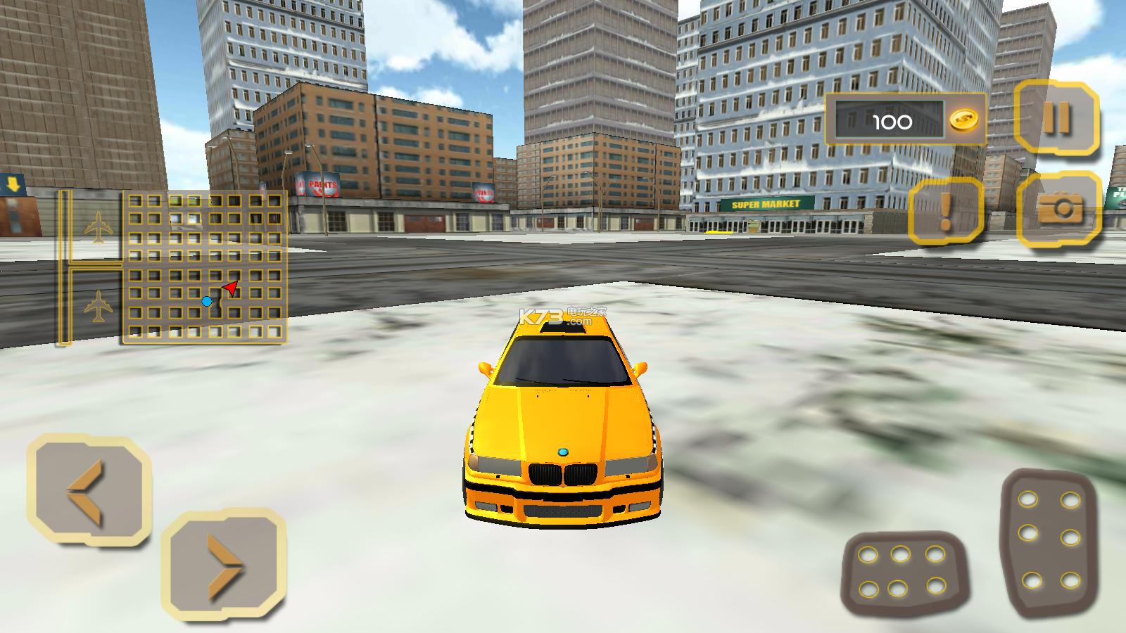 出租车司机赛车模拟器 v1.0.5 下载 截图