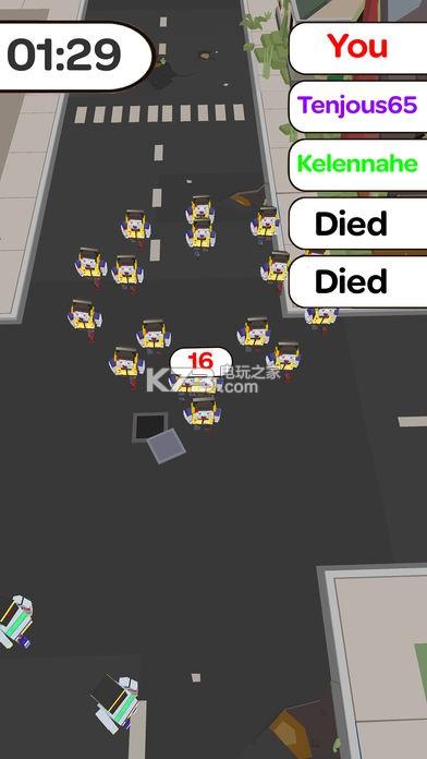 僵尸拥挤城市 安卓版下载v1.