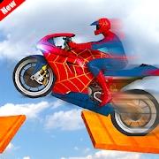 蜘蛛侠自行车赛车特技大师 v1.0.1 游戏下载