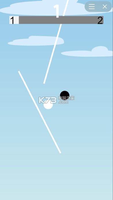 Ball vs Black White v1.3 游戏下载 截图