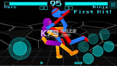 火柴人战斗霓虹战士 v1.0 游戏下载 截图