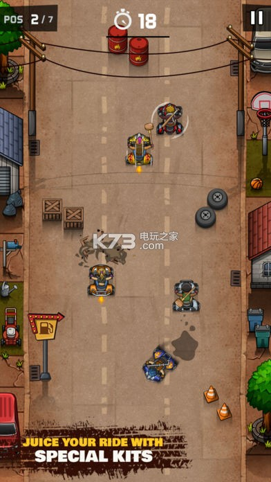 Rude Racers v1.0.1 游戏下载 截图