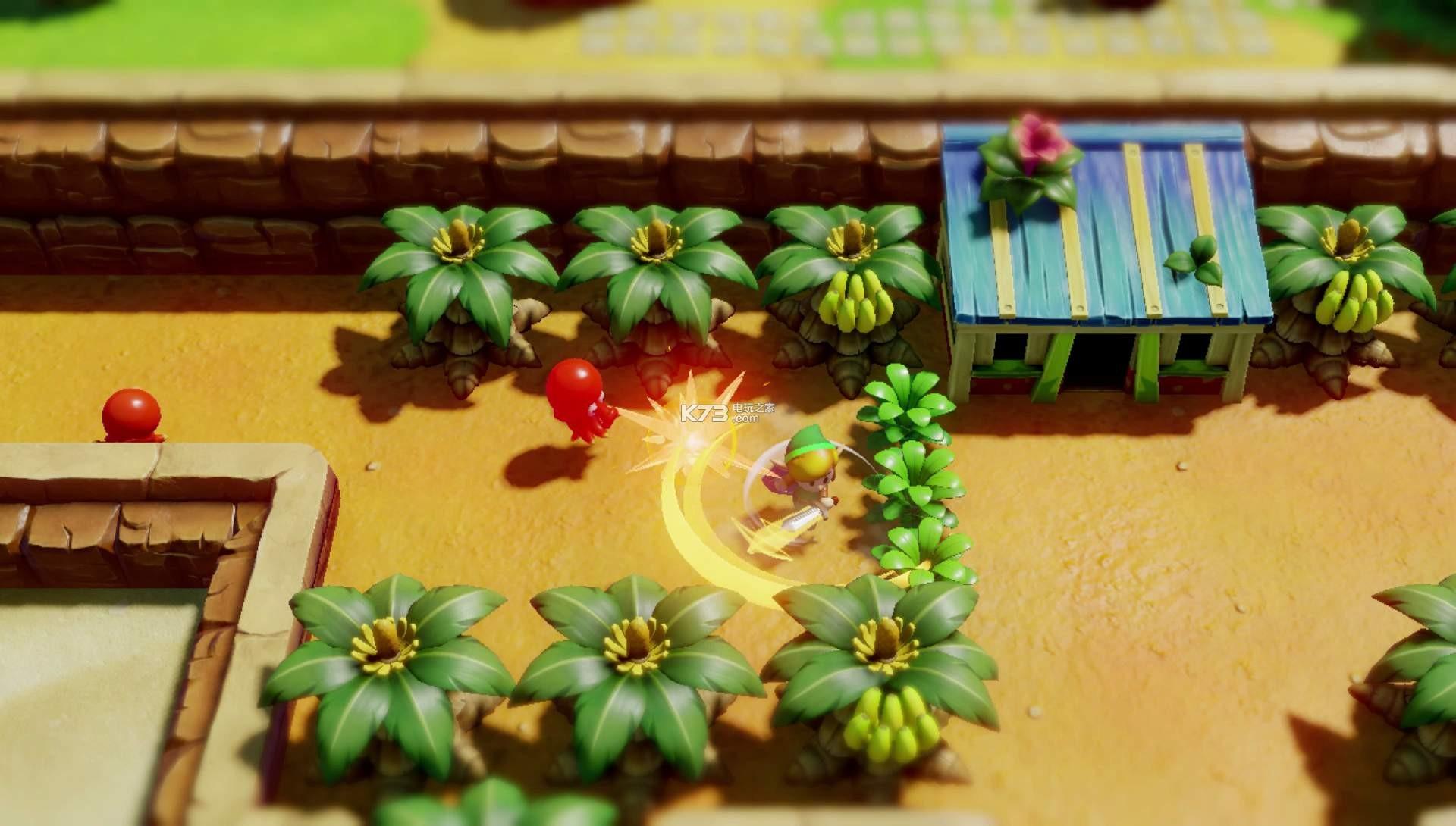 塞尔达传说梦见岛switch 中文版 截图