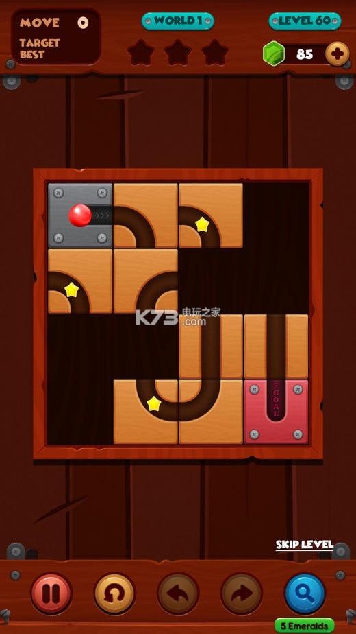 滚红球 v1.4 游戏下载 截图