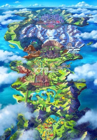 宝可梦剑盾 游戏 截图