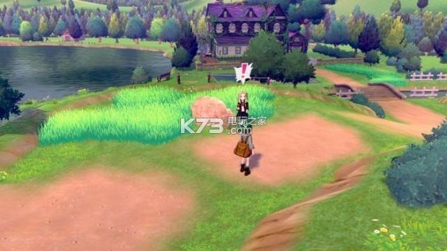 宝可梦剑 游戏 截图