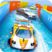 水滑动汽车特技赛车游戏下载