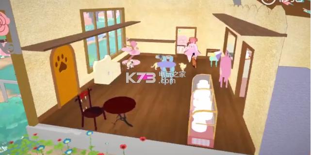 Calico魔法少女奔跑于咖啡厅 截图