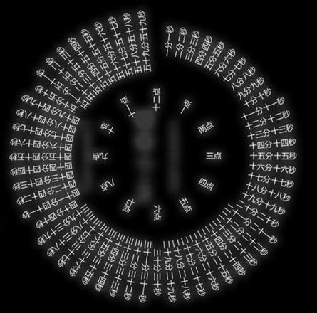 八卦轮盘时钟下载v1.1