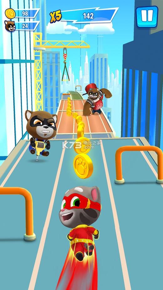 汤姆猫英雄冲刺 v1.0.15 游戏下载 截图