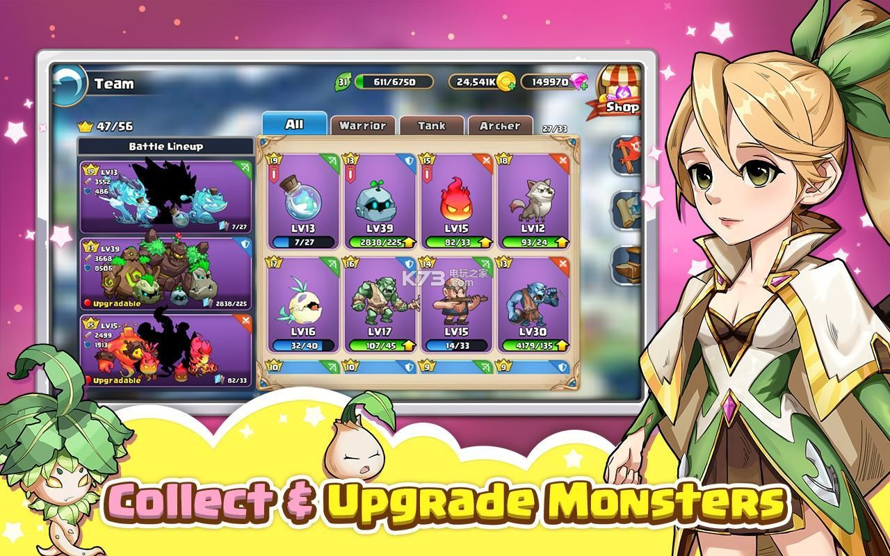 Puzzle Monster v1.18.10001 游戏下载 截图