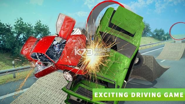 汽車碰撞遊戲 - 真正的汽車碰撞是一個非常容易上瘾的遊戲愛好者的汽車碰撞遊戲,因為它具有梁駕駛碰撞汽車破碎賽車和令人興奮的真正汽車碰撞車禍汽車碰撞遊戲的所有有趣的功能。享受粉碎和摧毀你的對手。遊戲是對現實世界的精确模拟!應避免面對面的沖擊。實踐是完美的。