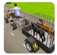 寵物狗ATV小車貨物運輸游戲下載