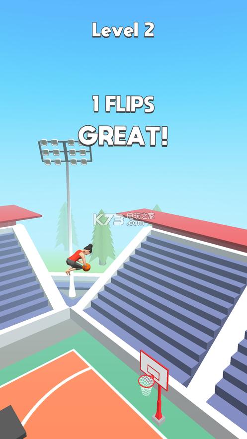 Flip Dunk v1.5 游戏下载 截图