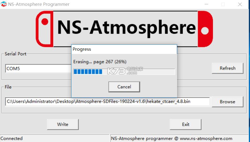 switch大气层SDFiles破解工具箱 v1.7 下载[兼容3.0.0-8.0.1系统] 截图