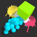 顏料球沖刺
