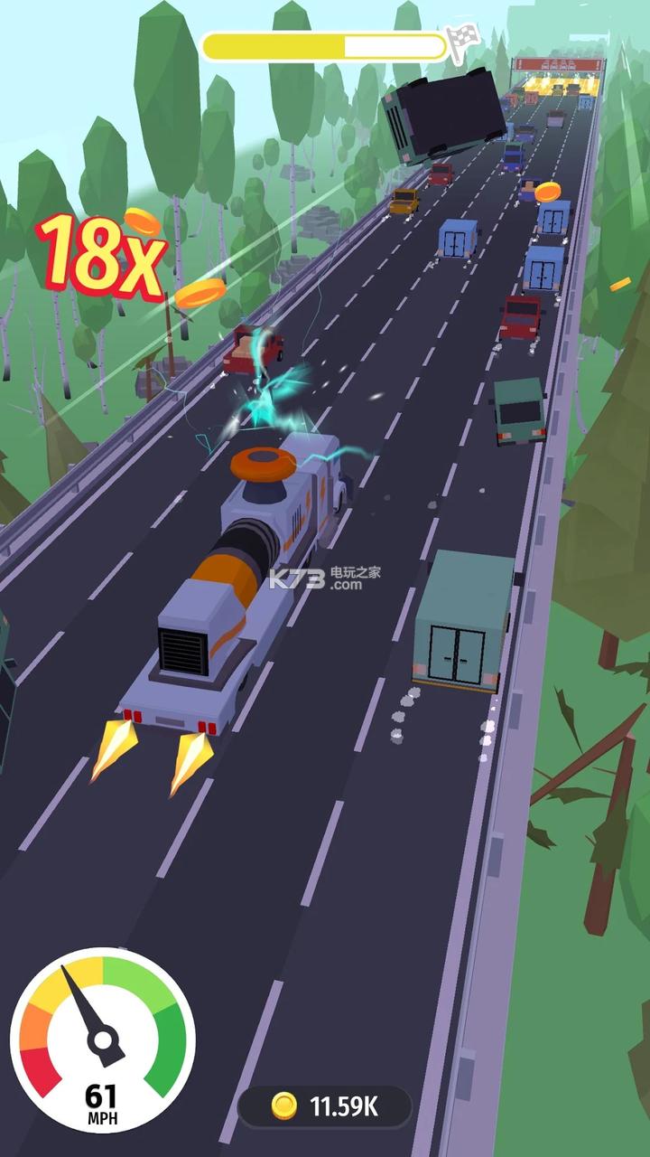 直冲大卡车破坏之王 v0.1 游戏下载 截图