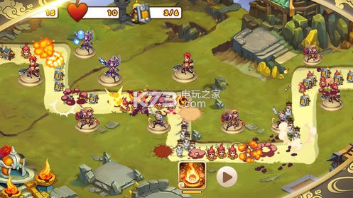 塔防前线 v1.0 游戏下载 截图