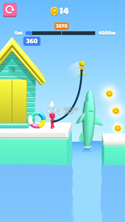 Rope Jump 3D v1.0 游戏下载 截图
