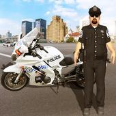自行車警察追捕
